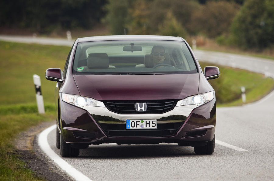 Honda FCX Clarity front end
