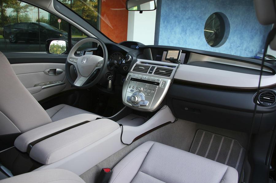 Honda FCX Clarity interior