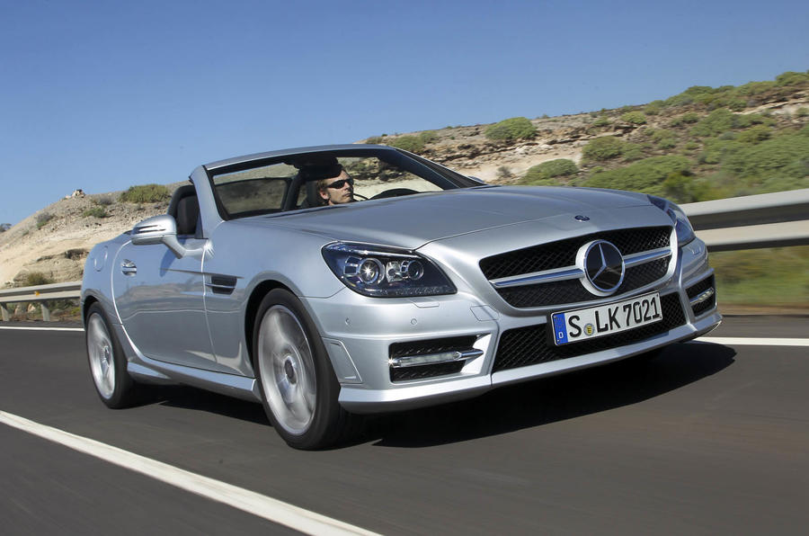 speed class top mercedes benz slk cars
