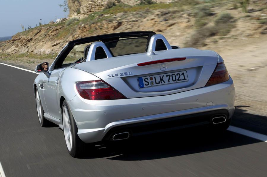 Mercedes-Benz SLK 250 rear