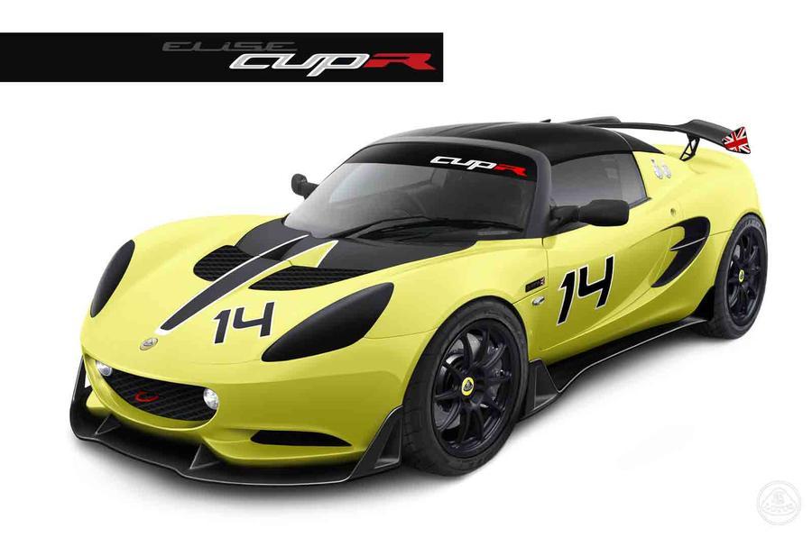 Lotus Elise S Cup R revealed