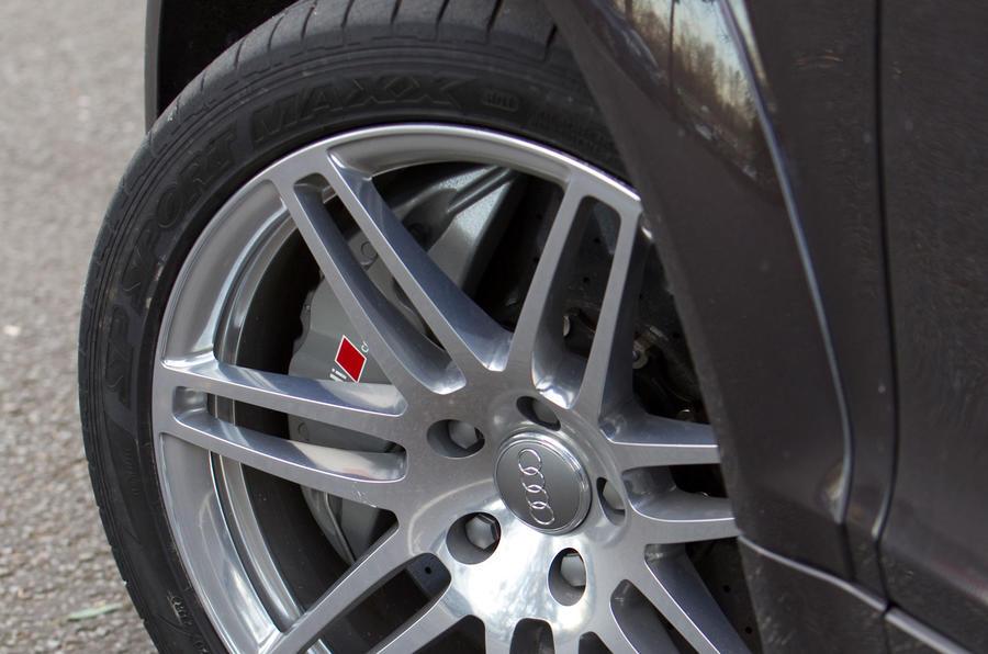 19in Audi Q7 V12 TDI Exclusive alloys