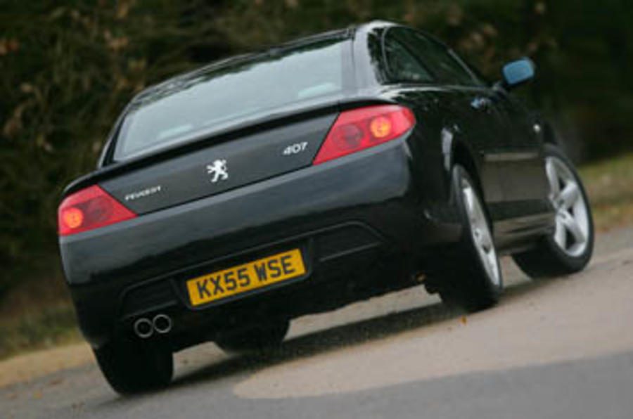 Peugeot 407 2.7 Coupe