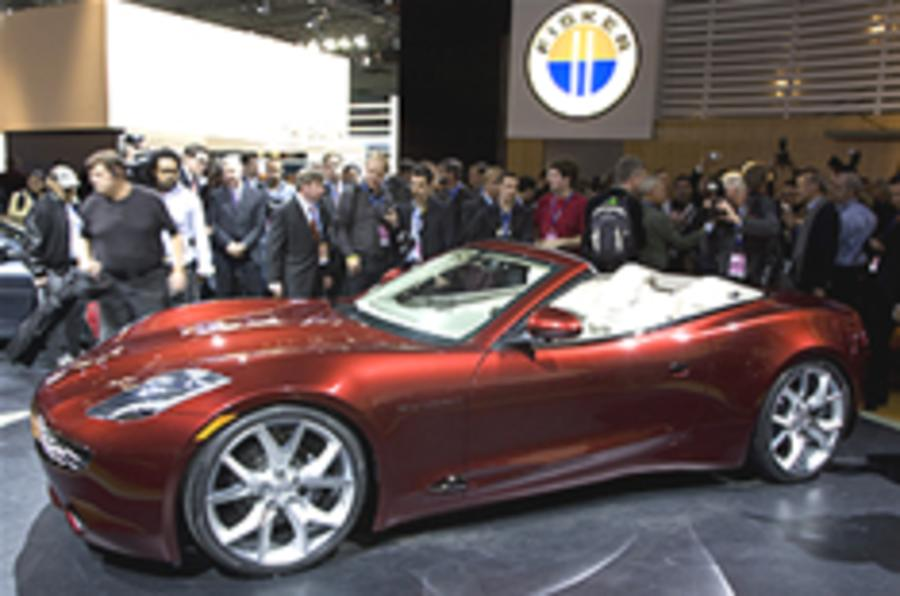 Fisker Karma S revealed