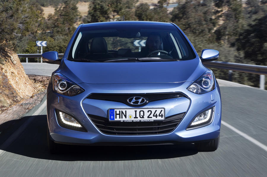 Hyundai i30 1.6 CRDi front end