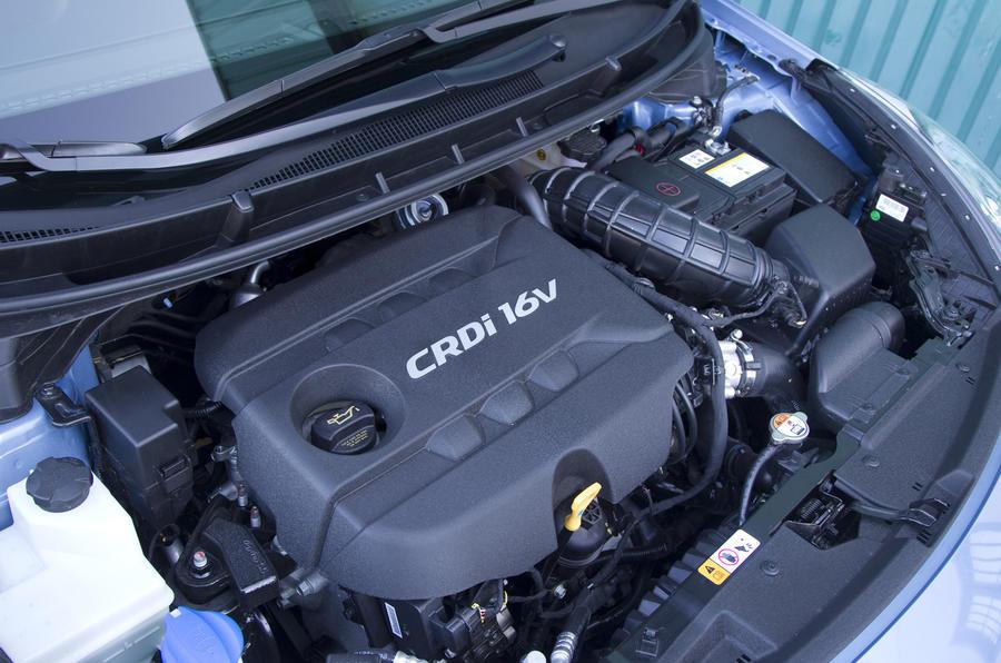 1.6-litre Hyundai i30 diesel engine