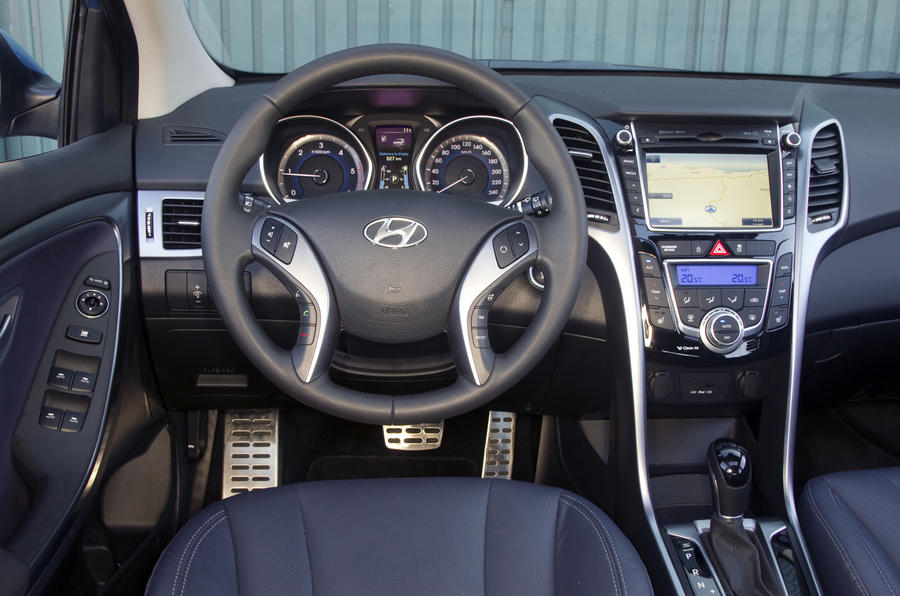Hyundai i30 1.6 CRDi dashboard