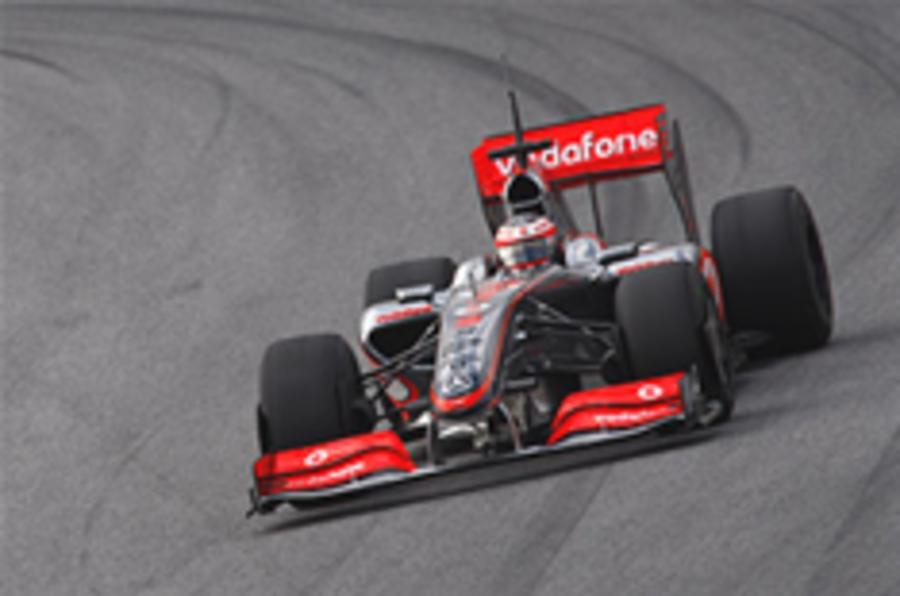 McLaren: we're not fast enough