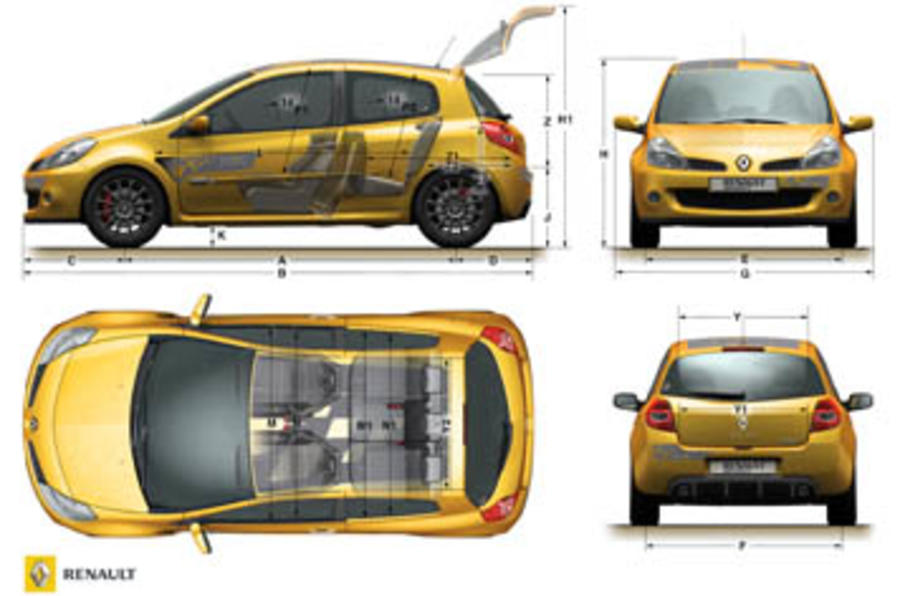 renaultsport clio r27 review autocar. Black Bedroom Furniture Sets. Home Design Ideas