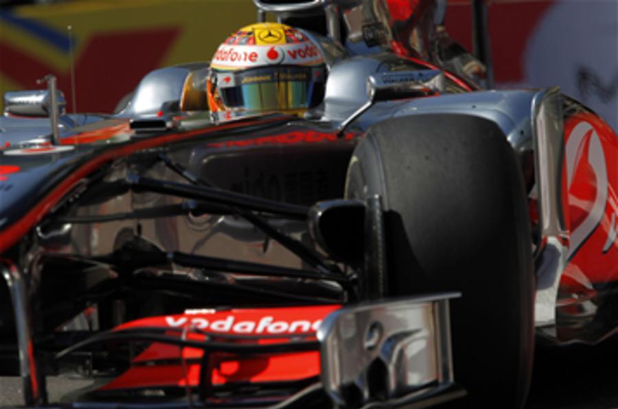 Police charge Lewis Hamilton