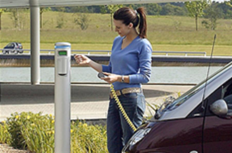 Pay-as-you-go for electric cars