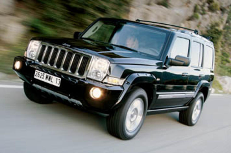 jeep commander 3 0 v6 crd limited review autocar. Black Bedroom Furniture Sets. Home Design Ideas