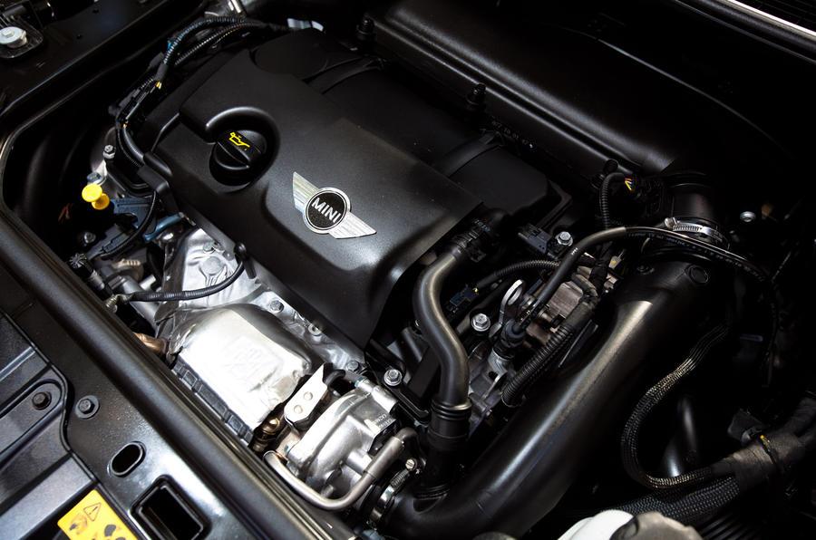 2.0-litre Mini Cooper S Countryman engine