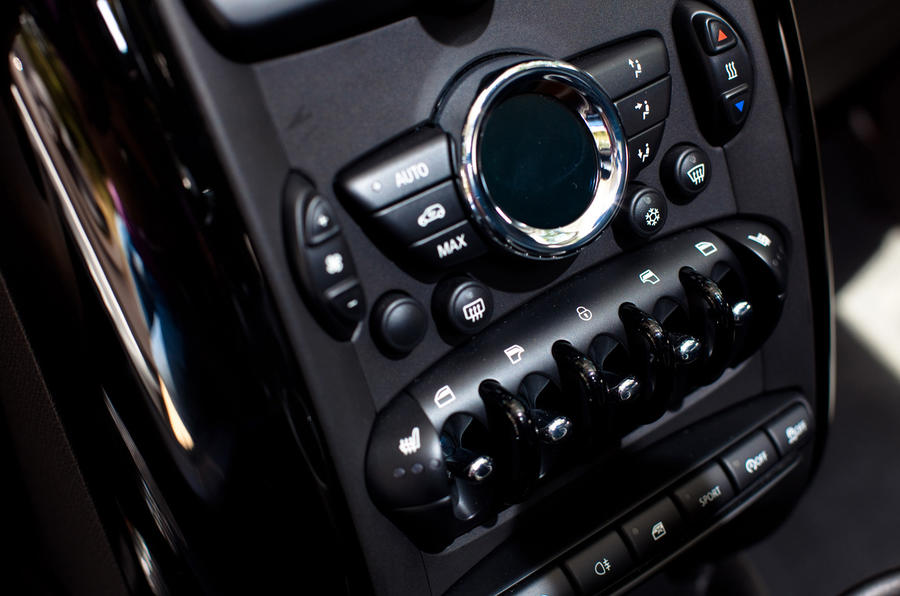Mini Countryman centre console