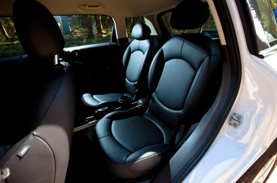 Mini Countryman ALL4 rear seats
