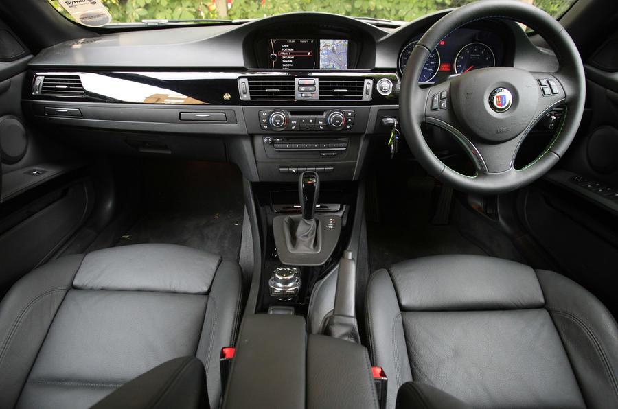 Alpina B3 S Biturbo Convertible dashboard