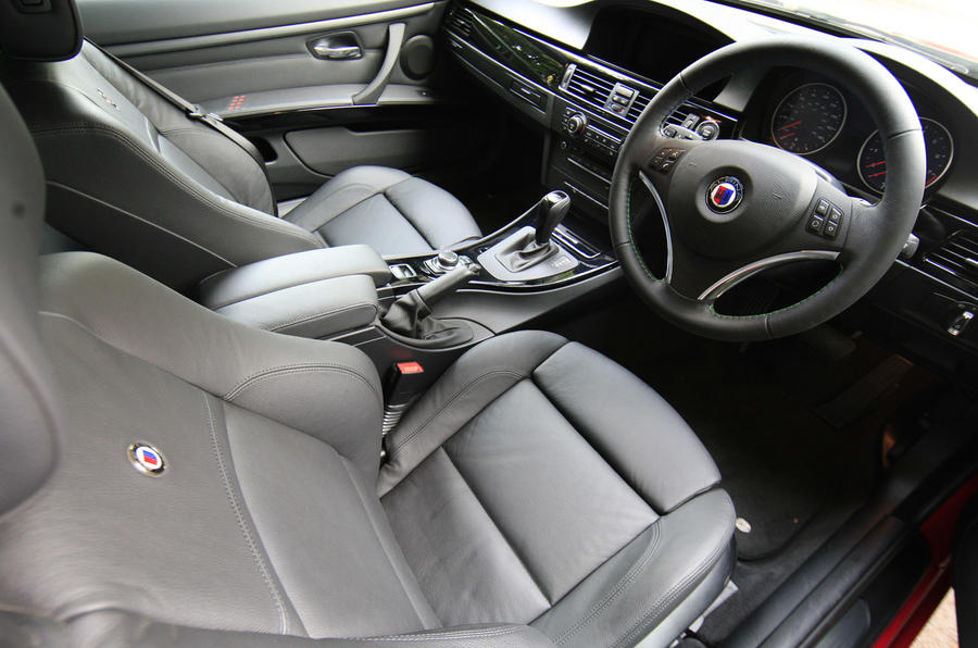 Alpina B3 S Biturbo Convertible interior
