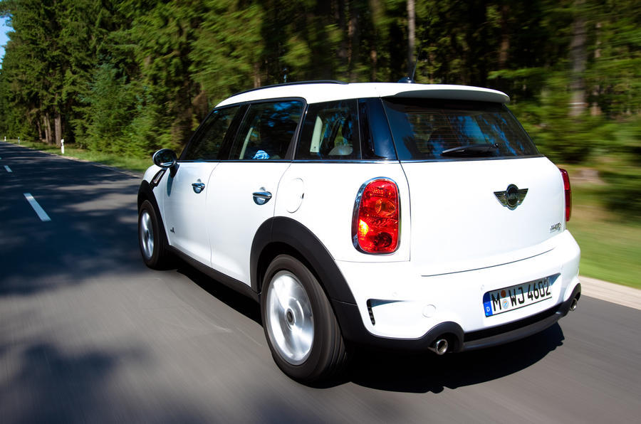Mini Countryman ALL4 rear