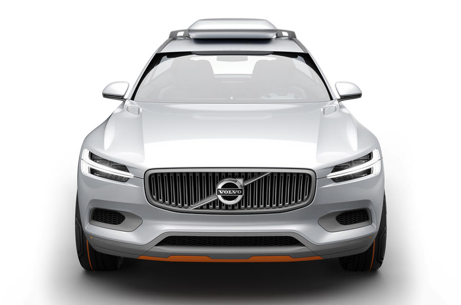 All-new Volvo XC90 shapes up in Concept XC Coupé