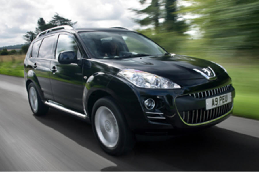 Peugeot 4007 2.2 HDi review | Autocar