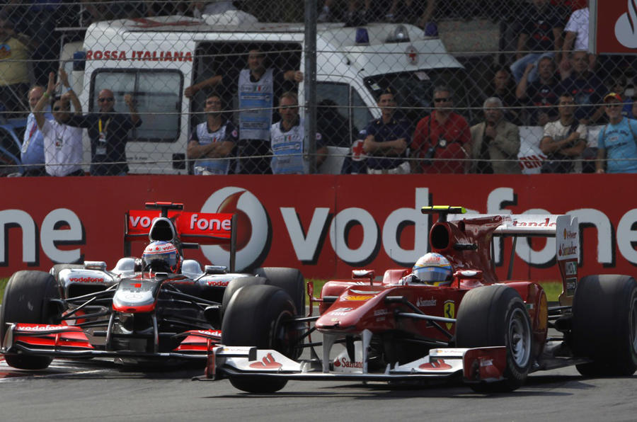 Alonso wins Italian Grand Prix