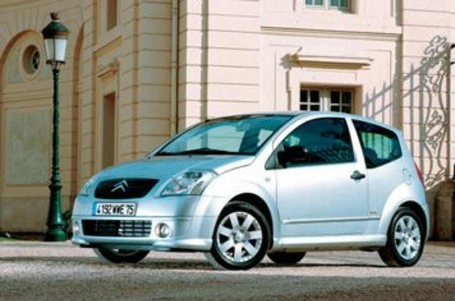 citroen c2 1 6 vtr review autocar. Black Bedroom Furniture Sets. Home Design Ideas