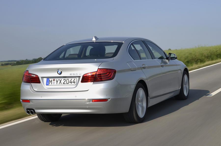 BMW 530d Luxury rear quarter