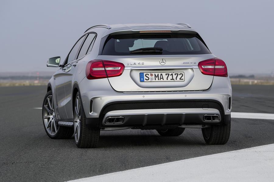 Mercedes-Benz GLA45 AMG revealed