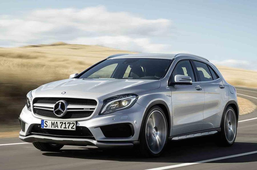 Mercedes-Benz GLA45 AMG revealed
