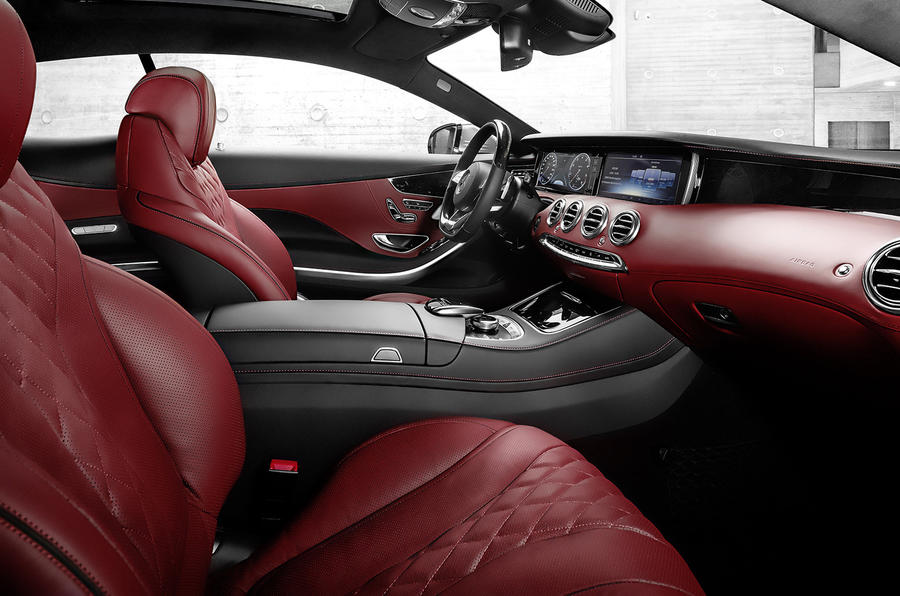 Mercedes-Benz S-class coupe revealed
