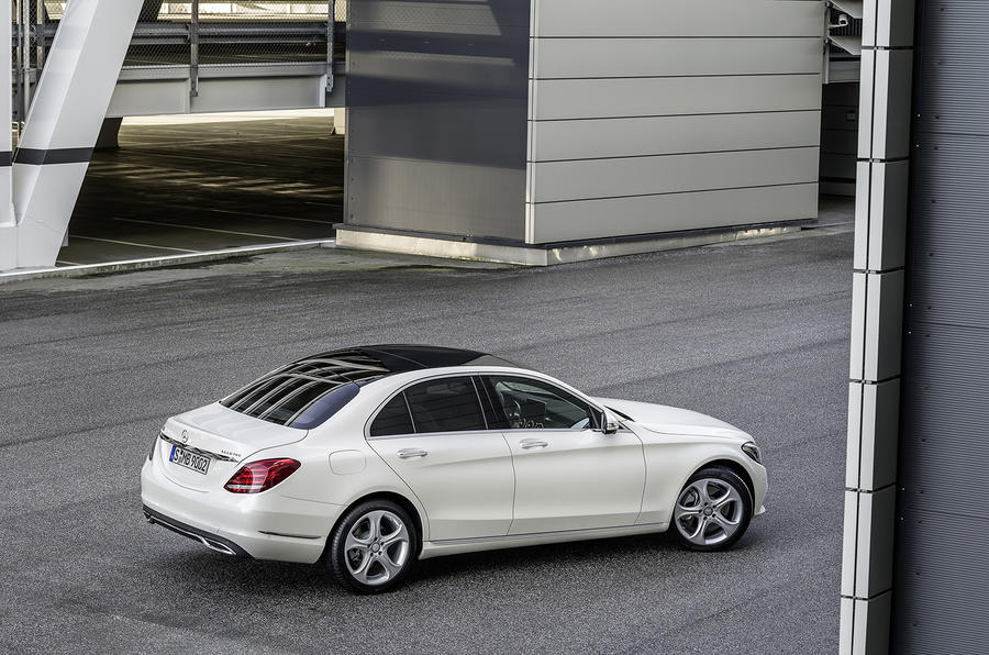 2014 mercedes benz c class revealed autocar for Mercedes benz route 17