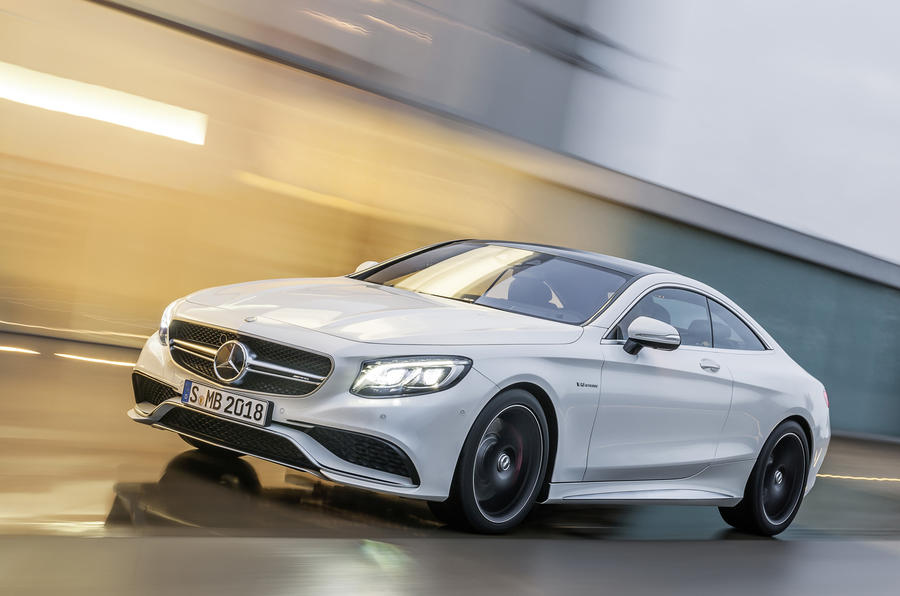 £124,000 Mercedes-AMG S 63 Coupe