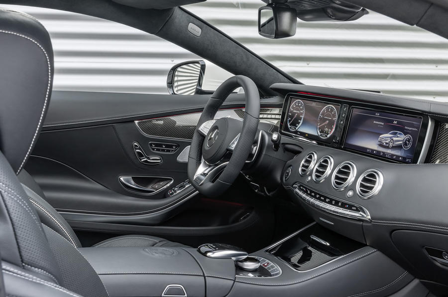 Mercedes-AMG S 63 Coupe interior