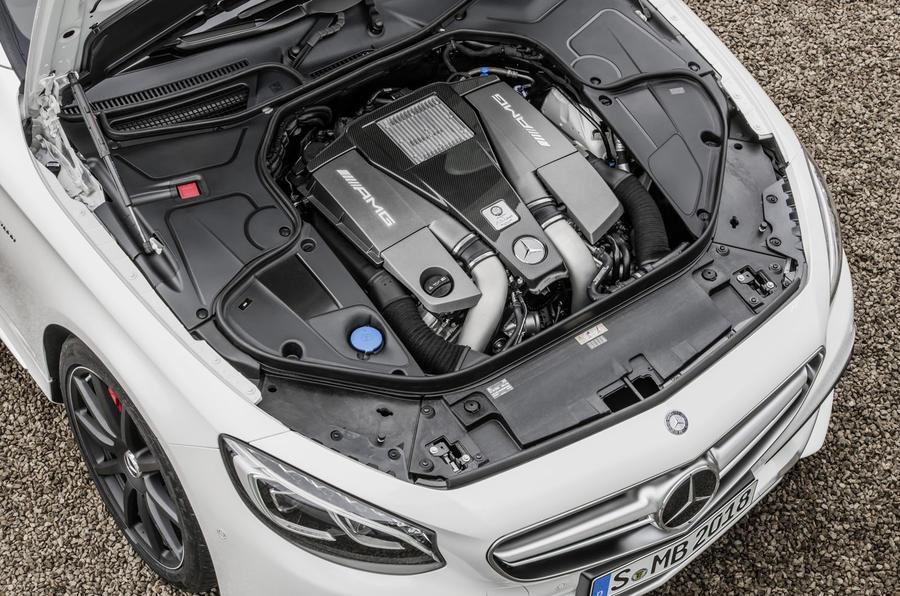 5.5-litre V8 Mercedes-AMG S 63 Coupe engine