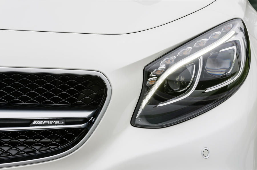 Mercedes-AMG S 63 Coupe headlights