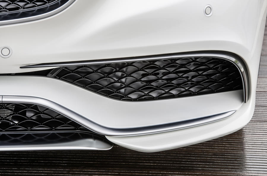 Mercedes-AMG S 63 Coupe air intake
