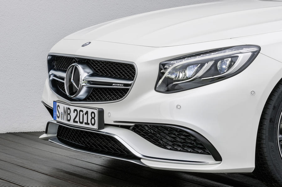 Mercedes-AMG S 63 Coupe front end