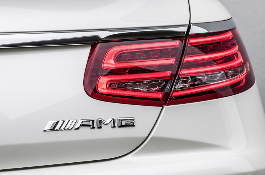 Mercedes-AMG S 63 Coupe rear lights