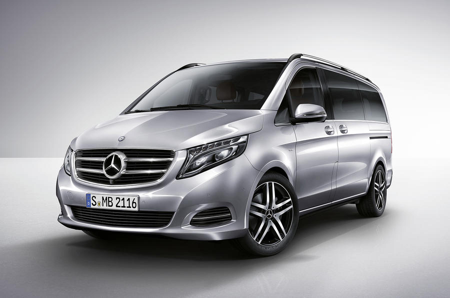Mercedes-Benz V-class revealed