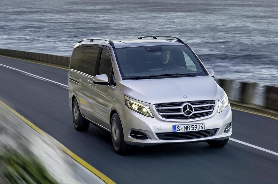 Mercedes-Benz V-class revealed
