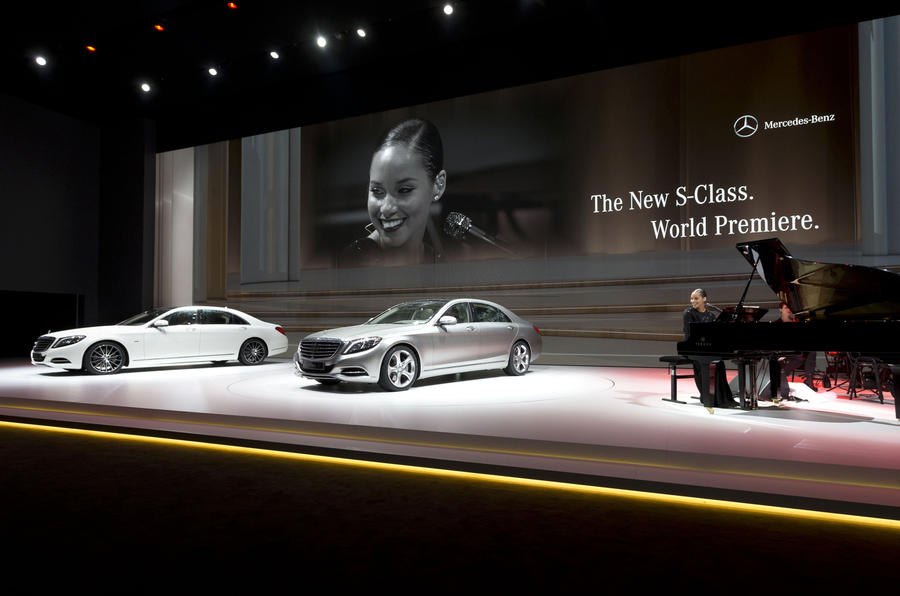 All-new Mercedes-Benz S-class unveiled
