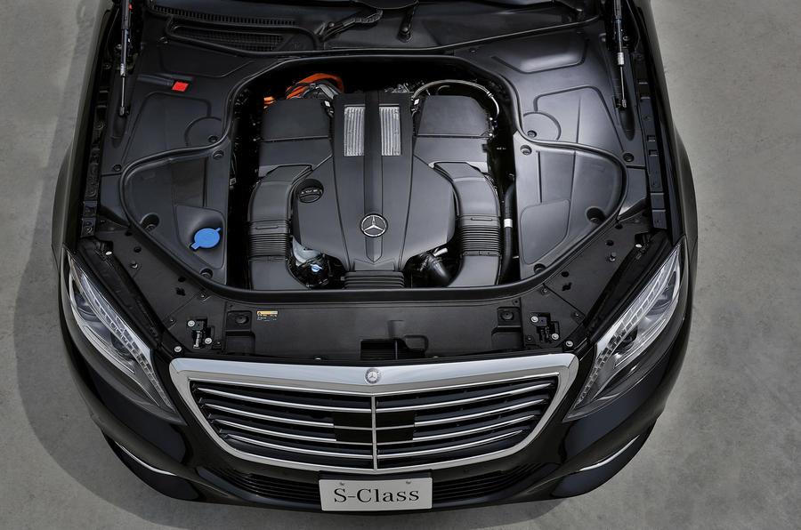 Mercedes Benz S500 plug-in hybrid revealed