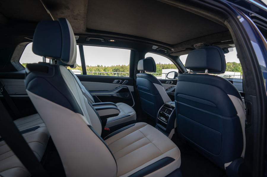 Alpina XB7 2020 road test review - middle row seats