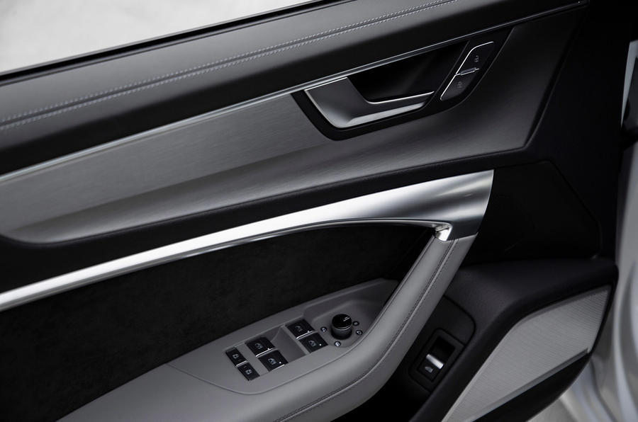 Audi A6 2019 road test review - door cards