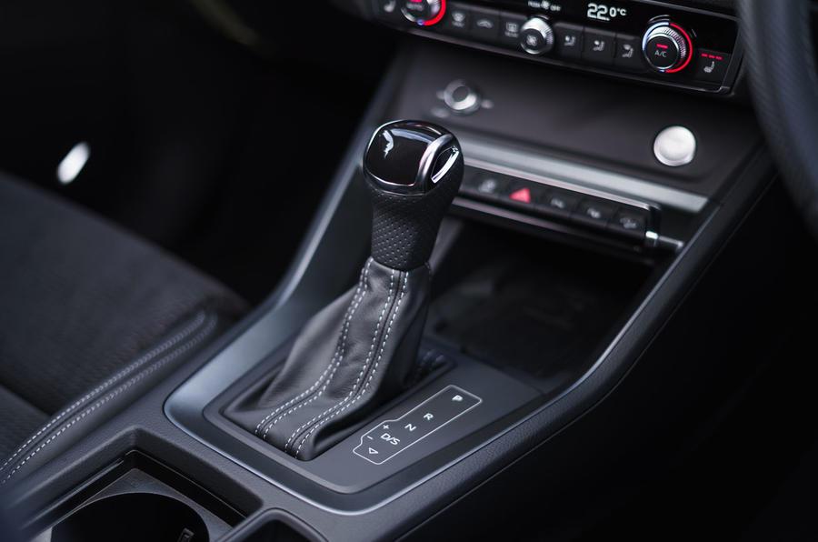 Audi Q3 Sportback 2019 road test review - gearstick