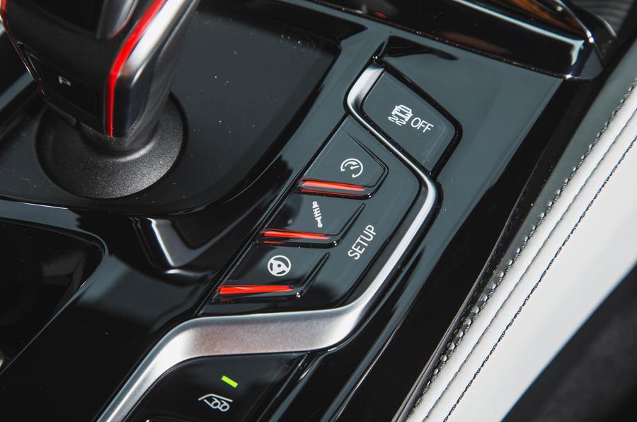 BMW M5 2018 review drive modes