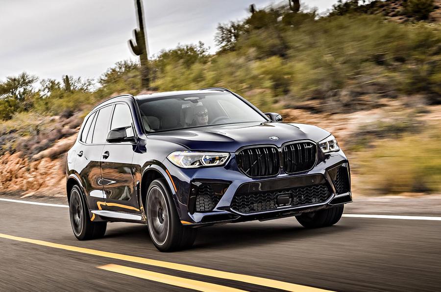 BMW X5 M Competition 2020 : examen des essais routiers - sur la route