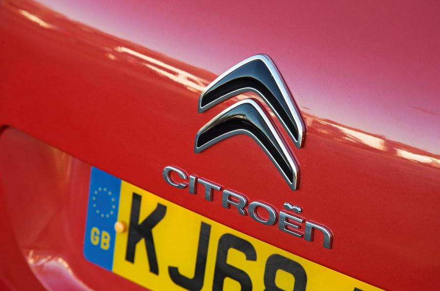 Citroen C5 Aircross 2019 road test review - boot badge