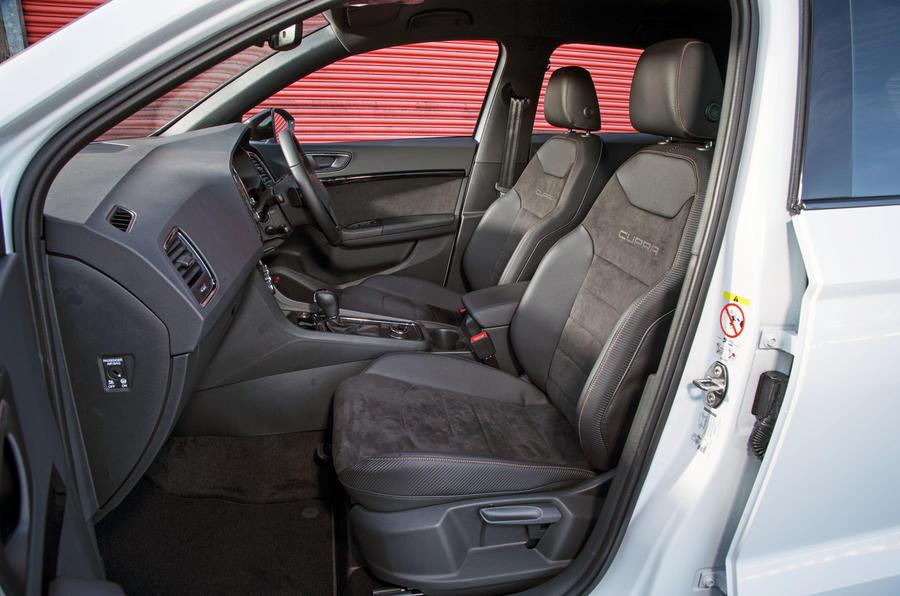 Cupra Ateca 2019 road test review - cabin