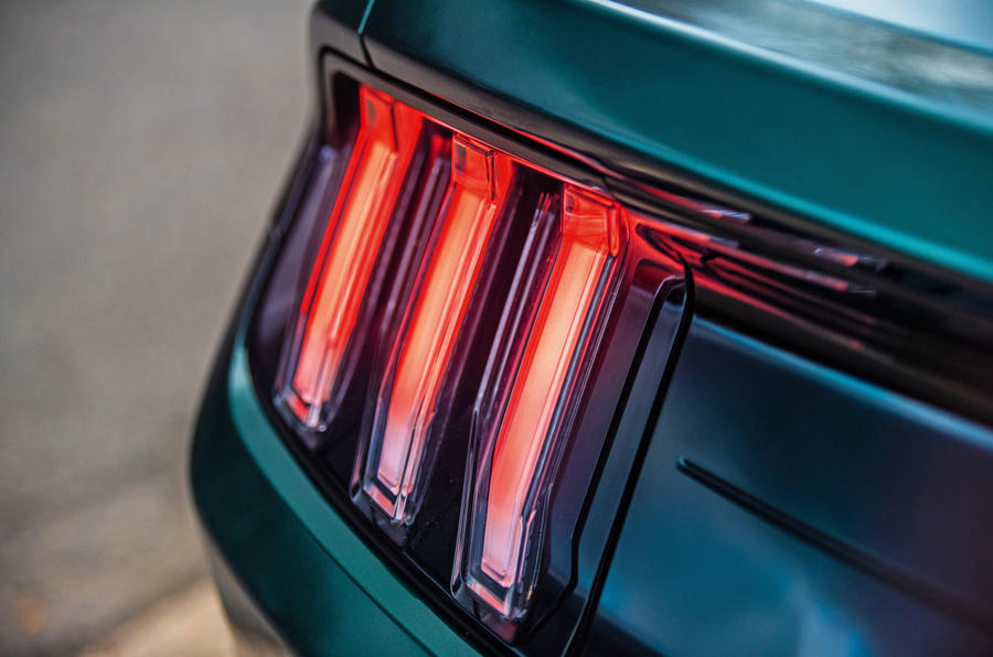 Ford Mustang Bullitt 2018 road test review - brake lights